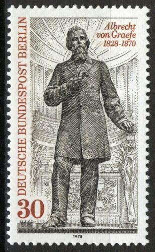 Poštovní známka Západní Berlín 1978 Albrecht von Graefe, oèní lékaø Mi# 569
