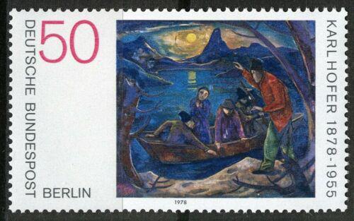 Poštovní známka Západní Berlín 1978 Umìní, Karl Hofer Mi# 572