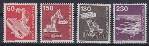 Poštovní známky Západní Berlín 1978-79 Prùmysl a technika Mi# 582-86 Kat 10€