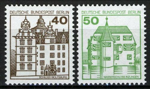 Poštovní známky Západní Berlín 1980 Zámky Mi# 614-15 A