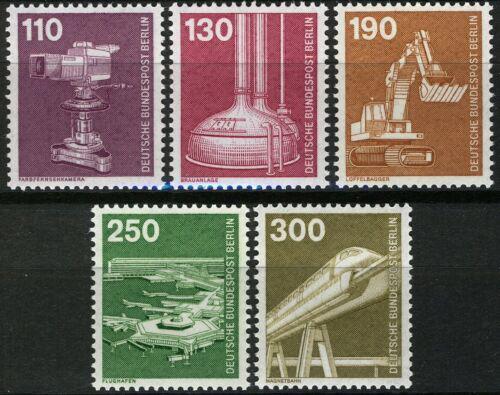 Poštovní známky Západní Berlín 1982 Prùmysl a technika Mi# 668-72 Kat 18€