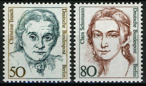 Poštovní známky Západní Berlín 1986 Slavné ženy Mi# 770-71 Kat 4€