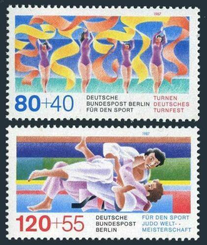 Poštovní známky Západní Berlín 1987 Sport Mi# 777-78 Kat 4.50€