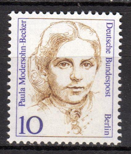Poštovní známka Západní Berlín 1988 Paula Modersohn-Becker, malíøka Mi# 806