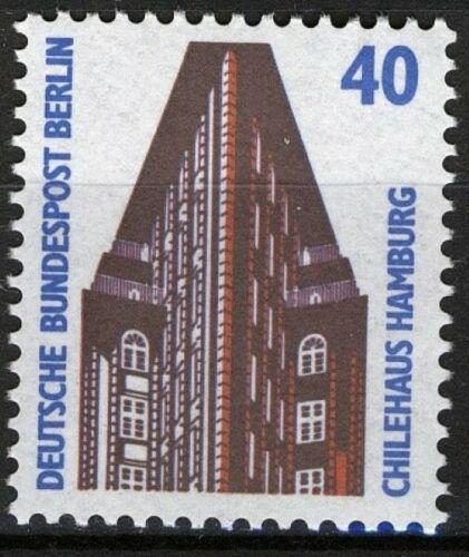 Poštovní známka Západní Berlín 1988 Dùm v Hamburku Mi# 816