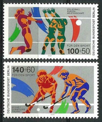Poštovní známky Západní Berlín 1989 Sport Mi# 836-37 Kat 7€