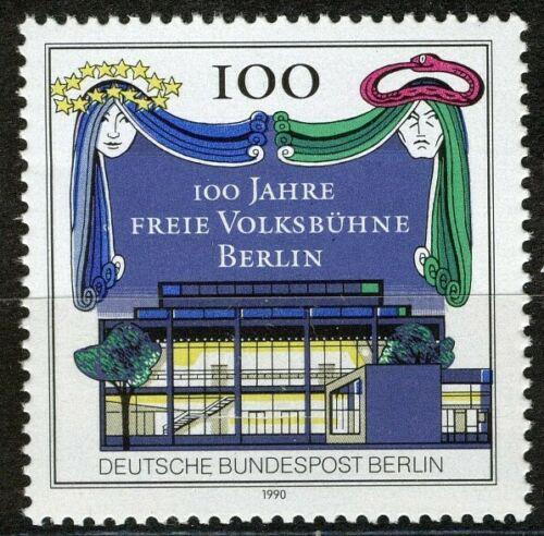 Poštovní známka Západní Berlín 1990 Divadlo Mi# 866