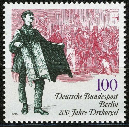 Poštovní známka Západní Berlín 1990 Muzikant Mi# 872
