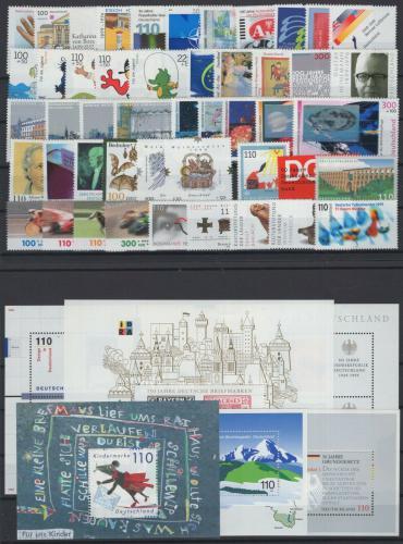 Kompletní roèník Nìmecko 1999 Mi# 2027-86 Kat 111.70€