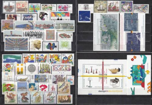 Kompletní roèník Nìmecko 1998 Mi# 1965-2026 Kat 122.20€