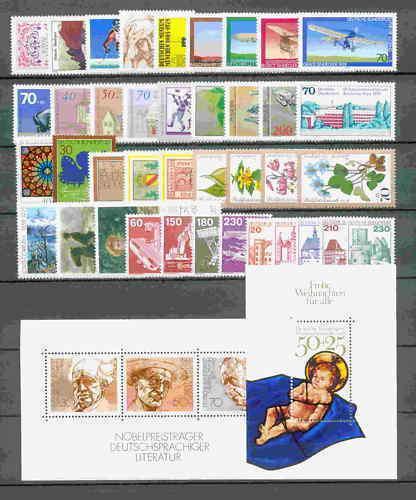 Kompletní roèník Nìmecko 1978 Mi# 956-99 Kat 62.30€