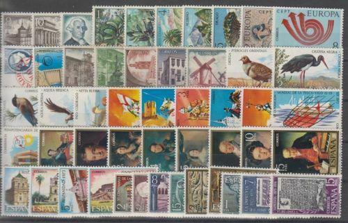 Kompletní roèník Španìlsko 1973 Mi# 2012-61