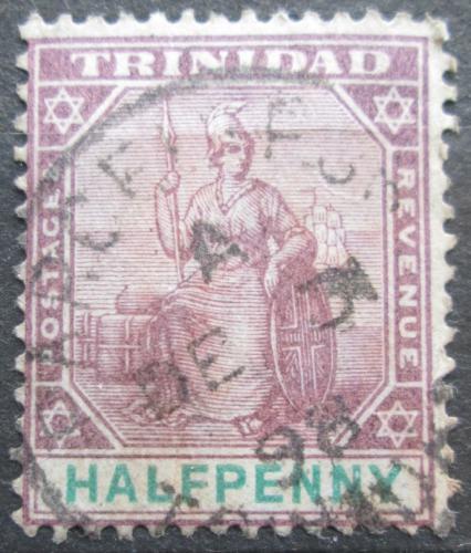 Poštovní známka Trinidad a Tobago 1896 Britannia Mi# 37