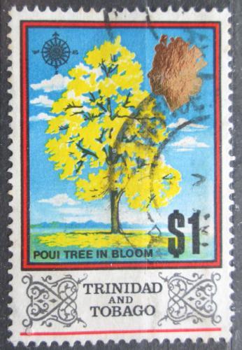 Poštovní známka Trinidad a Tobago 1969 Tabebuja Mi# 240 X II
