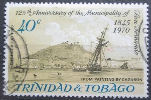 Poštovní známka Trinidad a Tobago 1970 Pøístav San Fernando Mi# 273