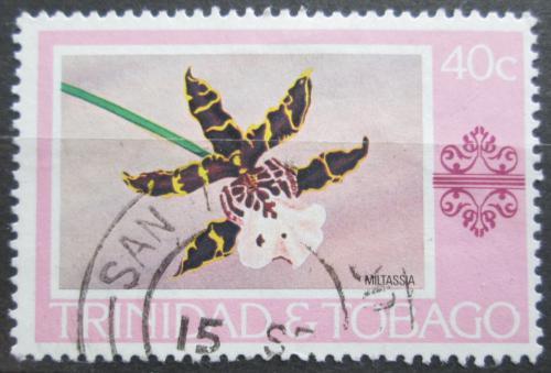 Poštovní známka Trinidad a Tobago 1978 Orchidej Mi# 369