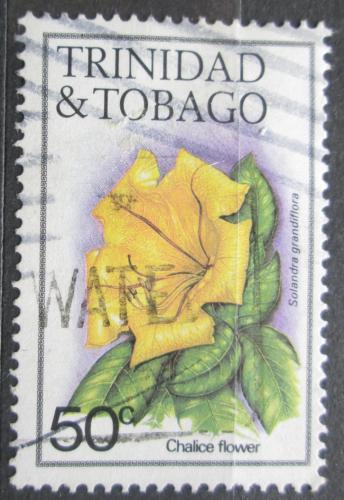 Poštovní známka Trinidad a Tobago 1983 Solandra grandiflora Mi# 485 I