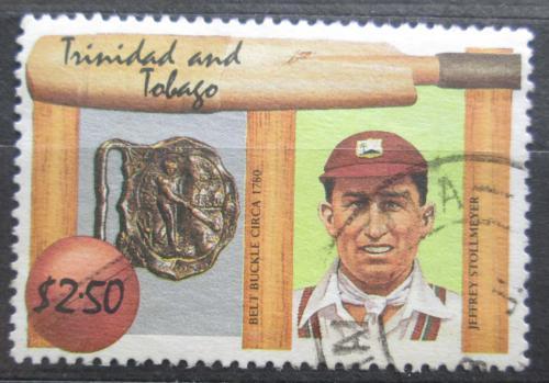 Poštovní známka Trinidad a Tobago 1988 Jeffrey Stollmeyer Mi# 562 Kat 3.80€