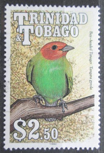 Poštovní známka Trinidad a Tobago 1990 Tangara vavøínová Mi# 616 Y