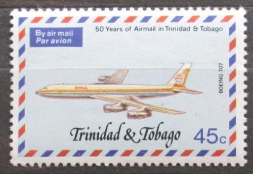 Poštovní známka Trinidad a Tobago 1977 Poštovní letadlo Mi# 353 A