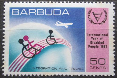Poštovní známka Barbuda 1981 Mezinárodní rok postižených Mi# 572