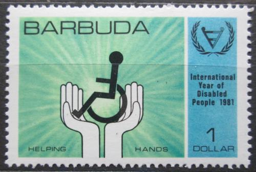 Poštovní známka Barbuda 1981 Mezinárodní rok postižených Mi# 574