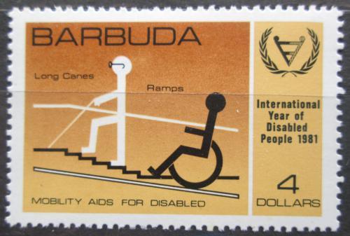 Poštovní známka Barbuda 1981 Mezinárodní rok postižených Mi# 575