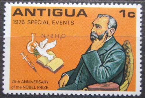 Poštovní známka Antigua 1976 Alfred Nobel Mi# 448