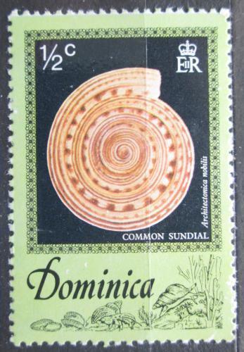 Poštovní známka Dominika 1976 Architectonica nobilis Mi# 517