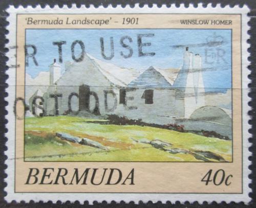 Poštovní známka Bermudy 1987 Umìní, Winslow Homer Mi# 505