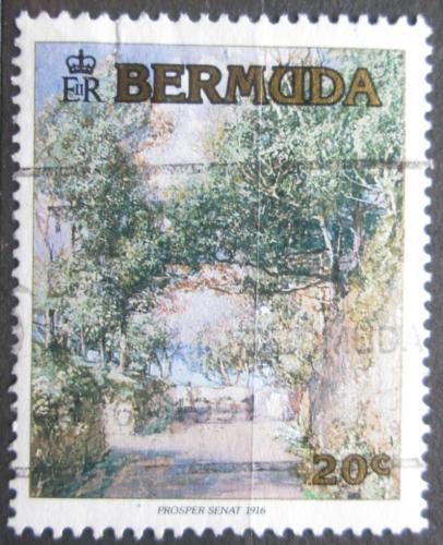 Poštovní známka Bermudy 1991 Umìní, Prosper Senat Mi# 596