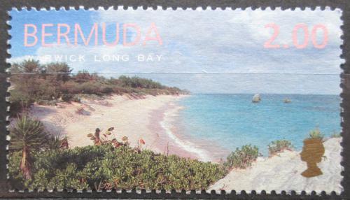 Poštovní známka Bermudy 1999 Pláž Warwick Long Bay Mi# 758 Kat 5.50€