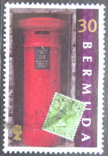 Poštovní známka Bermudy 1999 Poštovní schránka Mi# 768