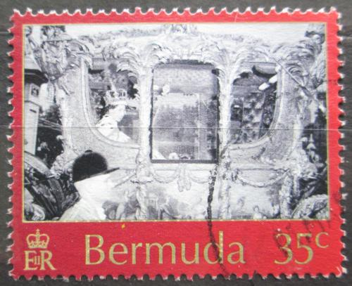 Poštovní známka Bermudy 2003 Královský koèár Mi# 857