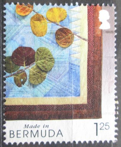 Poštovní známka Bermudy 2004 Textilní obraz Mi# 876