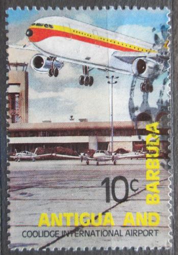 Poštovní známka Antigua 1982 Letištì Coolidge Mi# 664