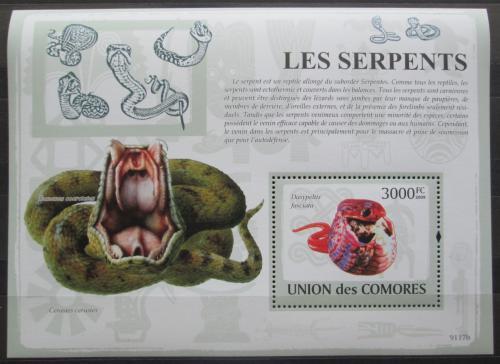 Poštovní známka Komory 2009 Hadi Mi# Block 474 Kat 15€