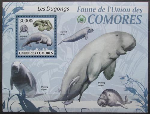 Poštovní známka Komory 2009 Dugong Mi# 2467 Kat 15€