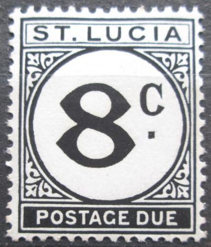 Poštovní známka Svatá Lucie 1949 Doplatní Mi# 9
