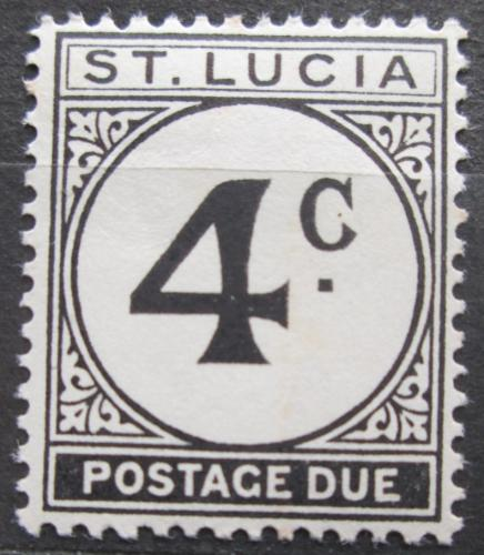 Poštovní známka Svatá Lucie 1965 Doplatní Mi# 12