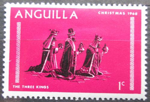Poštovní známka Anguilla 1968 Vánoce Mi# 44