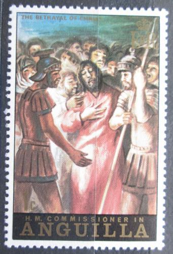 Poštovní známka Anguilla 1973 Velikonoce, umìní Mi# 167