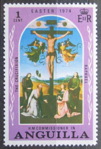 Poštovní známka Anguilla 1974 Velikonoce, ukøižování Krista Mi# 186