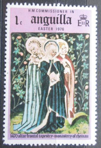 Poštovní známka Anguilla 1976 Velikonoce, umìní Mi# 251