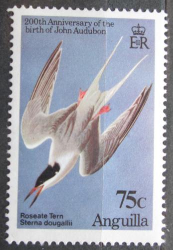 Poštovní známka Anguilla 1985 Rybák rajský, Audubon Mi# 636