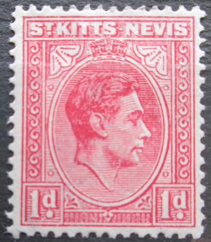 Poštovní známka Svatý Kryštof a Nevis 1943 Král Jiøí V. Mi# 73 Ab