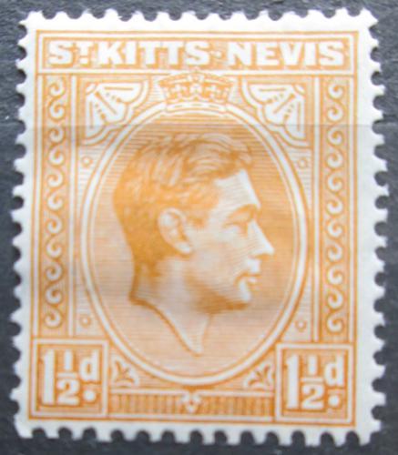 Poštovní známka Svatý Kryštof a Nevis 1938 Král Jiøí V. Mi# 74 A