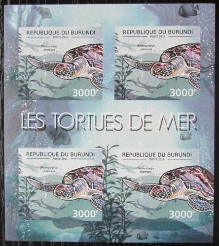 Poštovní známky Burundi 2012 Kareta pravá neperf. Mi# 2791 B Bogen