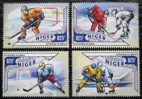 Poštovní známky Niger 2016 MS v ledním hokeji Mi# 4092-95 Kat 13€