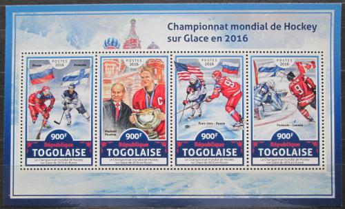 Poštovní známky Togo 2016 MS v ledním hokeji Mi# 7909-12 Kat 14€